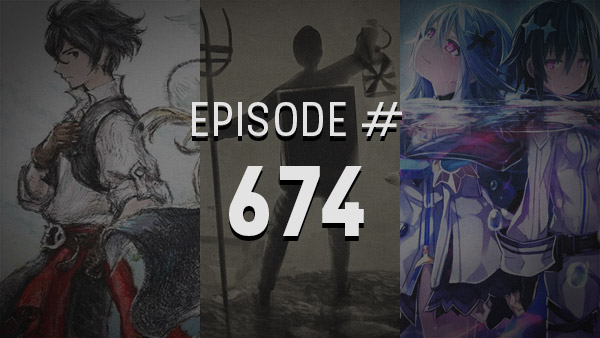 Thumbnail - 4Player Podcast #674 - Ponyo Licks the Blood (Bravely Default 2, Mundaun, Mary Skelter 2, and More!)