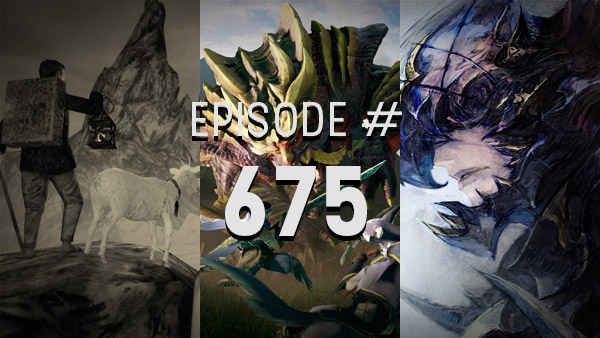 Thumbnail - 4Player Podcast #675 - Better than Star Wars (Monster Hunter Rise, Mundaun, Final Fantasy XIV, and More!)