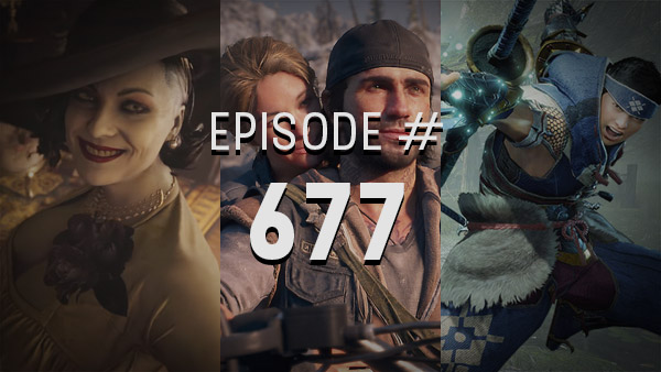 "Thumbnail - 4Player Podcast #677 - The ""Pro-Gamer"" Show (Resident Evil Village (Demo), Before Your Eyes, Big Sony Rumors, and More!)"