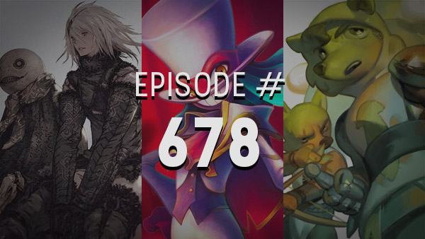 Thumbnail - 4Player Podcast #678 - The Balan Book Report Show (Balan Wonderworld, Nier Replicant, Tenderfoot Tactics, and More!)