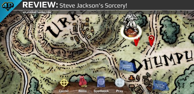 Viết một câu truyện của bạn với game Steve Jackson's Sorcery