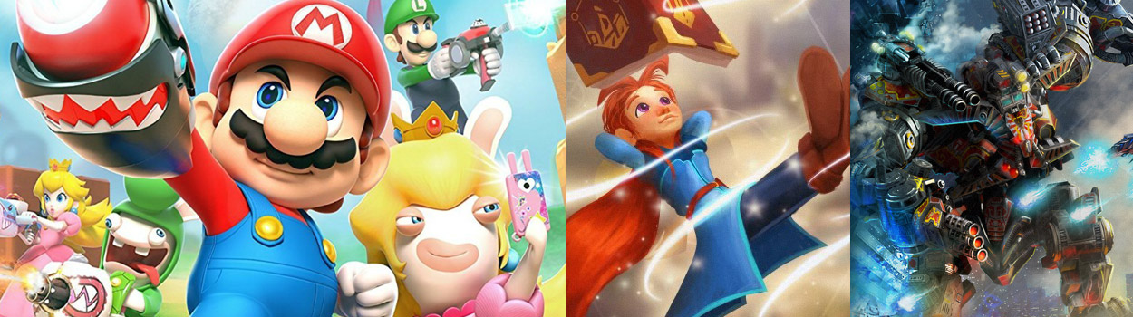 og:image:, Feedback from Our Last Episode , Mario + Rabbids: Kingdom Battle , Agents of Mayhem , Mages of Mystralia , 20XX , X-Morph: Defense , Nindies Summer Showcase Announcements,