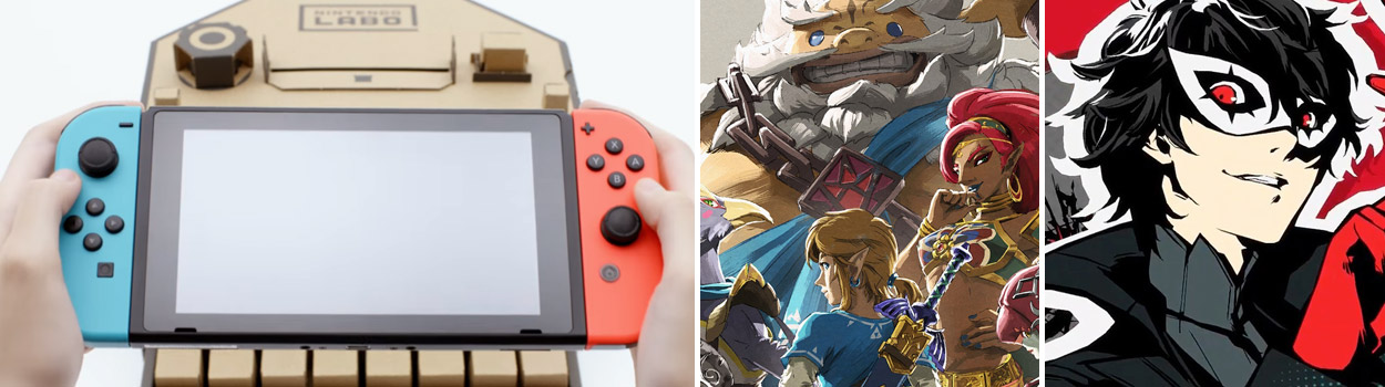 og:image:, Feedback from Our Last Episode , The Legend of Zelda: Breath of the Wild DLC - The Champions Ballad , Persona 5 , Yakuza 0 , Nintendo Labo Announcement , Nintendo Mini Direct , Rumored Fable Sequel in Development,