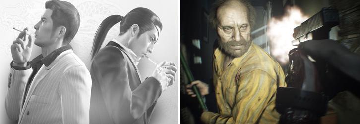 og:image:, Yakuza 0 , Resident Evil 7 , Conan Exiles , Tales of Berseria,