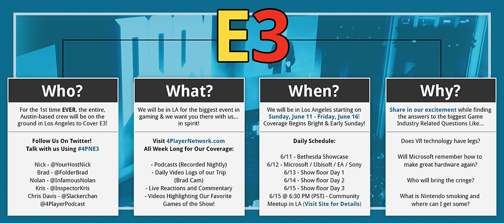 og:image, E3 2017, Electronic Entertainment Expo, E3 2017, Infographic
