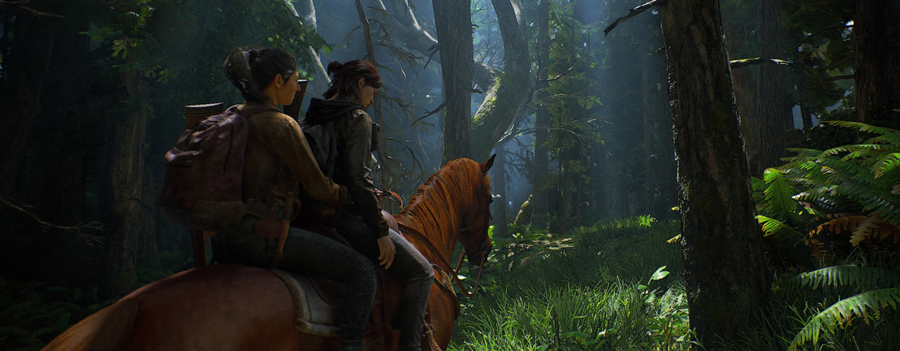 The Last of Us 2 - Ellie and Dina Ride a Horse